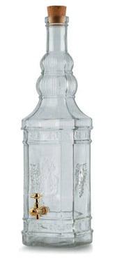 Un Catalano da 5 litri con rubinetto, caratteristica bottiglia